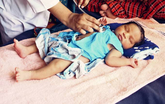 Visita pediatrica