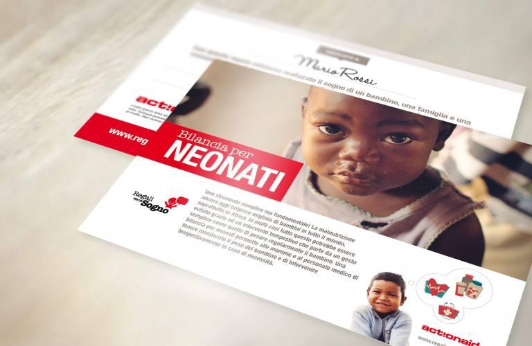Cartolina Bilancia per neonati