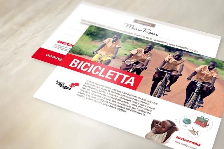 Cartolina Bicicletta