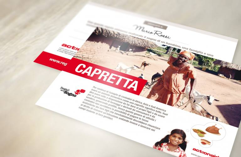 Cartolina Capretta