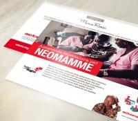 Cartolina Assistenza ospedaliera per neomamme