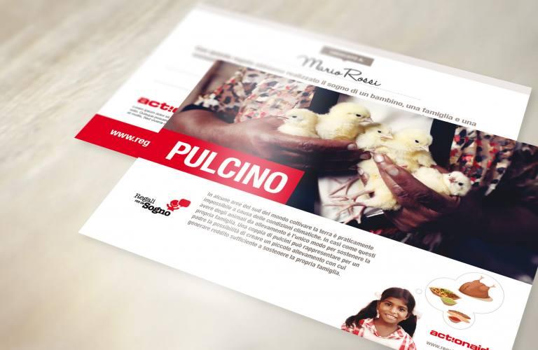 Cartolina Pulcino