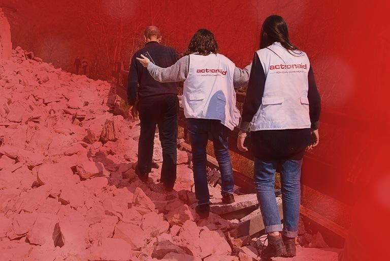 Insieme per l'italia colpita dal terremoto